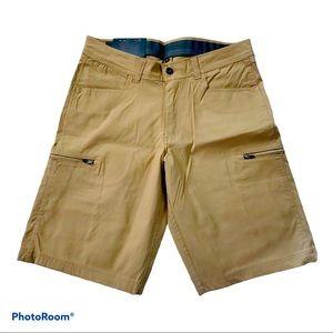 Bc Clothing Stretch beige men's short size 30
